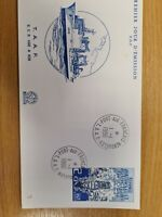 French Antartic 1986  Ship  on FDC K14