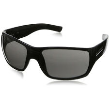 Hoven Times Sunglasses - Black Gloss - Grey Lenses - 43-0101