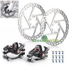 2x Fahrrad Scheibenbremse G3 mechanische Scheibe Vorne & Hinten MTB Bremsscheibe