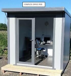 ++ BEST DEAL ON THE INERNET ++ SIP Built 8 ft x 8 ft Garden Room Office Pod