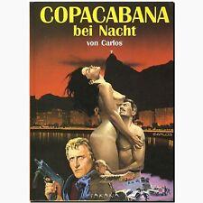 Copacabana bei Nacht Erotic Comic für Erwachsene CARLOS Action Power Abenteuer