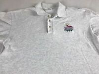 Balloons Above The Valley Polo Shirt VTG 90s Mens Large Hot Air Napa California