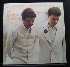 Carlos Santana Mahavishnu McLaughlin - Love Devotion Surrender LP VG+ C32034