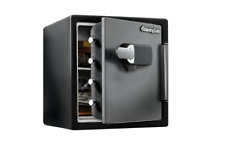 Fireproof Safe Waterproof Touch Screen Heavy Duty Durable Storage Keep New
