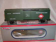Williams by Bachmann 47453 REA 40 Ft Refrigerator Car O 027 MIB New REX 6181