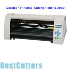 "HQ 15"" Mini Redsail Desktop Cutting Plotter Vinyl Cutter RS500C W Artcut"
