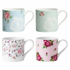NEW Royal Albert Vintage Mug, Assorted Colours (Set of 4)