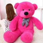 47'' GIANT BIG CUTE PLUSH TEDDY BEAR HUGE STUFFED SOFT TOY kids birthday gifts