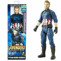 "Marvel Avengers Captain America Infinity War Titan Series 12"" Action Figure NIB"