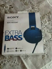 Sony MDR-XB550AP Extra Bass Headphones New/Boxed