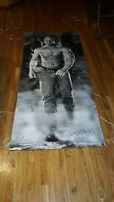 Vintage WWF WWE Life Size Vinyl STONE COLD STEVE AUSTIN BANNER RARE 1998 Raw