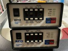 (2) EFD Nordson Valuemate 7000 Fluid Adhesive Epoxy Dispenser Good Condition