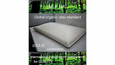 latex pillow 100% natural latex & cotton stich cover 70*40* 1.5kg dunlop prosses