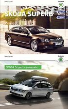 Two Deux Skoda Superb 10 / 2014 catalogue brochure