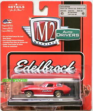 M2 MACHINES AUTO DRIVERS 1966 CHEVROLET CORVETTE 427 EDELBROCK R46