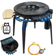 Blacktop 360 Partygrill Barbecue Gasgrill 7,4 KW Gas BBQ Grill 76cm mit Zubehör