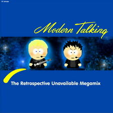 #YS405A - MODERN TALKING - The Retrospective Unavailable Megamix 2CD BLUE SYSTEM