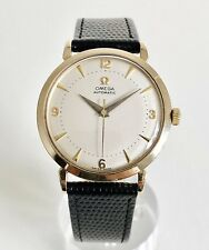 9CT GOLD OMEGA AUTOMATIC BUMPER CAL. 501 DATING TO 1958
