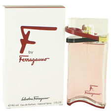F by Salvatore Ferragamo 3 oz 90 ml EDP Spray Perfume for Women New in Box