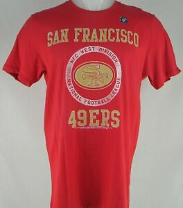 San Francisco 49ers NFL Junk Food Men's Red Short Sleeve Shirt