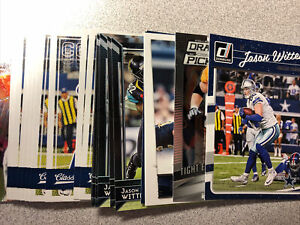 Jason Witten 22 card lot Dallas Cowboys