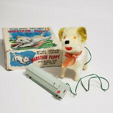 Plush Toy-MARATHON PUPPY St. Bernard-Battery Remote Control-Meiho-Japan