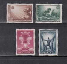 Serbien, Nr. 58-61, postfrisch