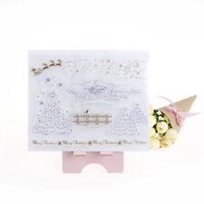 Winter Transparent Clear Silicone Stamp for DIY scrapbooking/photo album Decor L