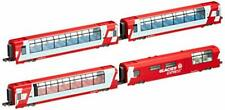 Alps Glacier Express (Add-On 4-Car Set) (Model Train) by Kato From Japan