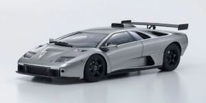 Kyosho Lamborghini Diablo GTR Silver 1:18 Scale Model Car - Brand New