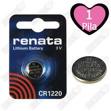 Renata Batteria Cr1220 Litio 3v Pulsante Batteria Cr 1220 Pile A Bottone X1