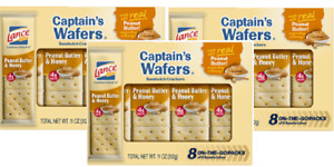 Lance Captain's Wafers Peanut Butter & Honey Sandwich Crackers 3 Pack