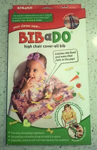 BIBaDO Catch it All, Cover All Full Cover Baby Led Weaning Bib. PINK ONLY