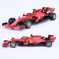 BBURAGO 1:43 2019 FERRARI FORMULA F1 SF90 #5 Sebastian Vettel Diecast Model Car