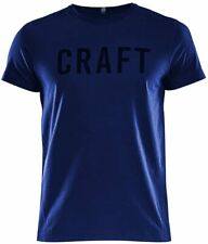 Craft Mens Deft 2.0 Short Sleeve Tee - Dark Navy