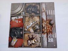 ZOMBICIDE RUE MORGUE  GAME TILE  2R-2V