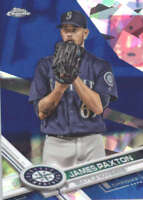 JAMES PAXTON 2017 TOPPS CHROME SAPPHIRE EDITION #658 ONLY 250 MADE