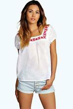 Boohoo Casual Regular Size Tops & Shirts for Women