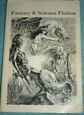 L.W Currey • Fantasy & Science Fiction Catalog #90 • 1989