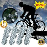 4 Pcs Bicycle Bike Wheel Reflective Spoke Safe Reflectors Hyb Z4L1 Road H7L2