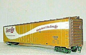 Tyco Boxcar Reefer SARA LEE Rd# ERDX 10061 Billboard - HO
