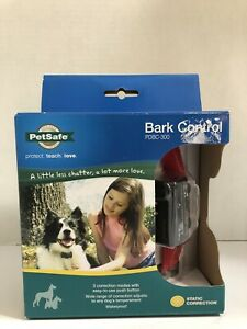 PETSAFE Bark Control Collar Static Correction PDBC-300 Brand New