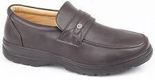 Scimitar Hombre Piel Sintética barato Elegante Zapatos de oficina negro Touch