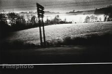1974 Vintage 8x10 SURREAL LANDSCAPE TRAIN Art Photo Gravure Plate JEANLOUP SIEFF
