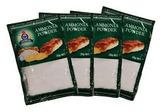 4 Packs Olympian Ammonia Powder for Cakes, AMMONIACA 4x20g