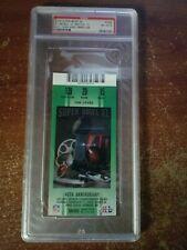 2006 Super Bowl XL Ticket Stub PSA Ex-MT 6 Steelers Champs