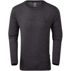 Dare 2B manches longues coton gris Overdrive pour hommes taille XS