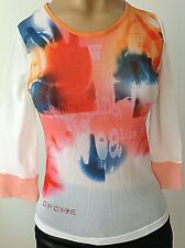 COP COPINE MULTICOLORED STRETCHED MADE IN FRANCE TOP SIZE O, S-M