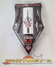 Wac'Em Steel 3 Blade 100 Grain Expandable-S-3100