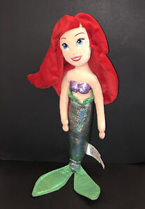 "Disney Store~Little Mermaid Ariel Plush 22"" Shimmer Doll~Excellent Condition!"